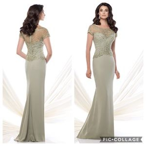 Coffee color Montage by Mon Cheri Gown